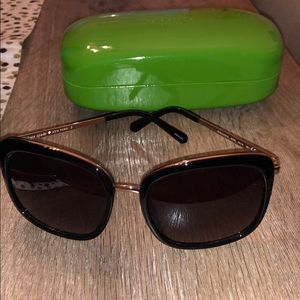 Kate Spade sunglasses with case- worn once!